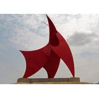 Wholesale Racing Sails Painted Metal Sculpture Stainless Steel Corrosion Stability from china suppliers