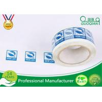 Quality Custom Sealing OPP / Bopp Self Adhesive Tape With Crystal Clear Printed for sale