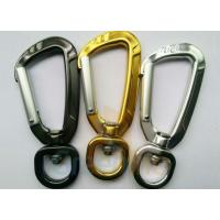 Wholesale 91MM Height Spring Snap Clip , Light Weight High Strength Heavy Duty Carabiner Clips from china suppliers
