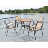 outdoor set, wicker/rattan/outdoor furniture wood, powder coating metal frame C602+T802 for sale