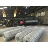 Wholesale Alloy 5% Alu - Zn Gabion Wall Baskets Hexagonal Hole For Slope Protection System from china suppliers