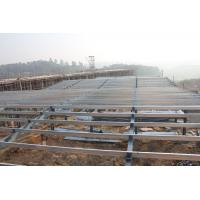 Wholesale Safety Custom Prefabricated Steel Structure Single Span High Strength Portal Framing from china suppliers