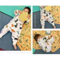 Wholesale Anti Kick Muslin Baby Pajamas Baby Sleeping Romper Soft Touch Eco - Friendly from china suppliers