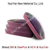 Quality Non Woven  Diamond Grit Sanding Belts  Nylon  Suitable For Producing Mat for sale