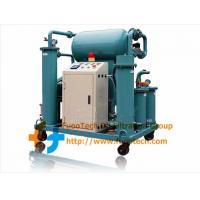 Quality Series ZYA Fully Automatic Single-stage Vacuum Transformer Oil Purifier for sale