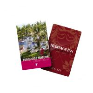 Rf Plastic RFID Hotel Key Cards Pvc Ic Elevator Door Blank Key Cards