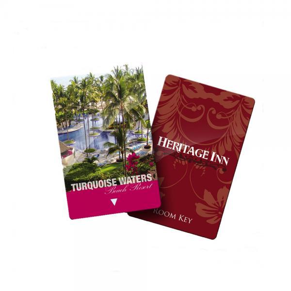 Quality Rf Plastic RFID Hotel Key Cards Pvc Ic Elevator Door Blank Key Cards for sale