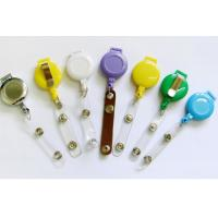 Wholesale Eco Friendly Carabiner Retractable Badge Holder With Abs Material from china suppliers
