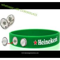 custom 1 inch wide fat silicone wristbands silicone rubber wristband for club, sport team for sale