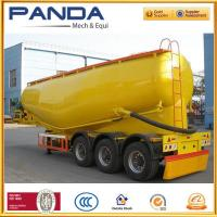 Buy cheap 2016 New 60T cement bulker trailer, bulk cement tanker with air compressor for sale from wholesalers