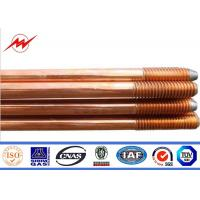 Wholesale Pure Earth Earth Bar Copper Grounding Rod Flat Pointed 0.254mm Thickness from china suppliers