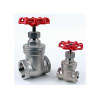 "Wholesale 1/4"" to 4"" Stainless Steel Gate Valve CF8M NPT Thread PN16 ASTM Standard from china suppliers"