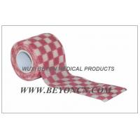 Wholesale OEM Printed Cohesive Non Woven  Bandage Elastic Wrap For Fixation from china suppliers