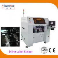Buy cheap Multi Function PCB Labeling Machine , 0.05mm Vision Odd Form Sticker Mounter from wholesalers