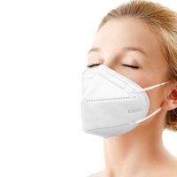 Wholesale Earloop KN90 Meltblown Nonwoven Fabric FFP2 White Face Mask from china suppliers