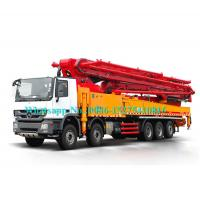 China Remote Control Concrete Pumping Equipment 56m Truck Mounted 56X-6RZ Model on sale