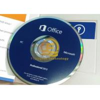 Wholesale 32 / 64Bit Computer System Softwares , Microsoft Office Professional Plus 2013 DVD Drive from china suppliers