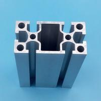 Wholesale 20mm X 40mm Black Aluminium Window Door Frames High Precision Machining from china suppliers