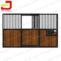 Wholesale Indoor Safety Horse Stalls Horse Stables with swing doors or sliding door from china suppliers