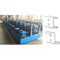 China Automatic Grade C&Z Purlin Forming Machine  12-15m / Min Forming Speed on sale