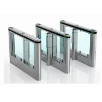 Wholesale Width Lane Security Waist Height Turnstile Entry Systems Core Biometric Swing Barrier from china suppliers