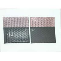 China Shiny / Matte Black Conductive Bag , Film Composite Flat Poly Mailers on sale
