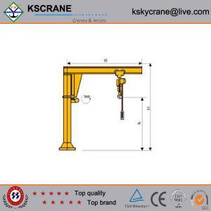 China High Quality Small Rotate Jib Crane,Jib Crane Manufacturer on sale