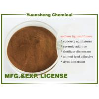 Wholesale Buy Sodium lignosulphonate Wood pulp grade as Water reducing agents from china suppliers