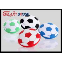 40mm Soccer Kids Bedroom Knobs , Soft Plastic / PVC Childrens Wardrobe Door Knobs