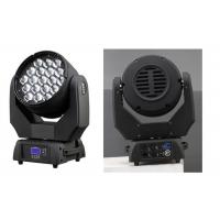 Wholesale Best Sellers 19×15w Zoom 7-60 Degree LED Moving Head Wash Light from china suppliers