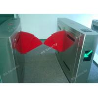 Wholesale Automatic Security Waterproof Flap Barrier Gate Electric Double Wing Turnstile from china suppliers