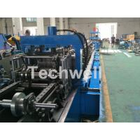 Wholesale Blue Cable Tray Roll Forming Machine  With Punch Machine & Hydraulic Pre - Cutting Device from china suppliers
