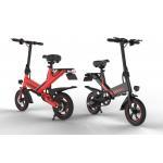 China Portable Magic Weapon Fold Up Electric Bike 14'' Aluminum Alloy 40KM Pure Mileage for sale