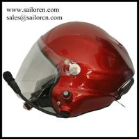 Buy cheap High noise cancel aviation headset Powered paraglider helmet/PPG helmet  red colour Made in China from wholesalers
