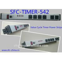 Wholesale Value Cycle Timer Electrical Outlet , Metal Power Strip With Timer / On Off Switch from china suppliers