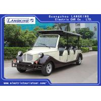 China 8 Person Golf Cart Car With Baskte / Electric Classic Cars For Park / Hotel on sale