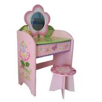 Wholesale Superway New Wooden Children Dressing Table with Mirror from china suppliers