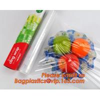 Wholesale Waterproof transparent pe pvc 12mic 30cm customized food wrap,China stretch cling wrap manufacturer pe food wrap with from china suppliers