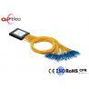 PON G657A1 2x32 PLC Splitter , 2.0mm SC Connectors Fiber Optic PLC Splitter for sale