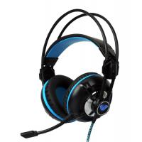 China Aula G93V Wired Gaming Headset Easy Volume Control LOL DOTA2  With LED Light on sale