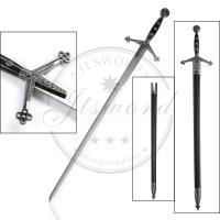 Wholesale Metal 43.3 Medieval Longsword 43.3 Double Edged No Sharp Blade from china suppliers
