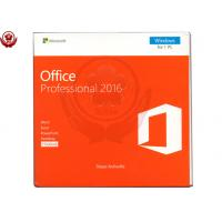 Wholesale Office 2016 pro plus 1 DVD + 1 Key Card Retail Version software from china suppliers