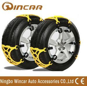 China TPU Plastic Snow Tire Chain off road vehicle accessories Wheel Antiskid TPU Chain on sale