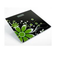China Electronic Glass Bathroom Scale with Nice Flower Printing XJ-9K804 on sale