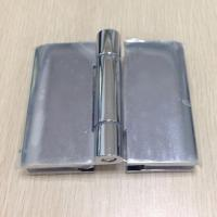 Buy cheap 180 degree bathroom glass door hinge , cambered cover zinc alloy hinge from wholesalers