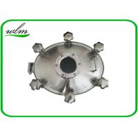 Buy cheap Sight Glass Stainless Steel Manhole Cover High Pressure Elliptical Shaped from wholesalers