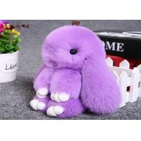 Wholesale Pink Rabbit Fur Keychain from china suppliers