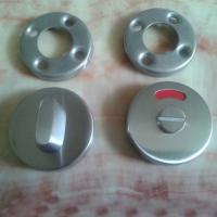 Wholesale Satin stainless steel top thumb turn toilet lock disabled turn release indicator lock from china suppliers