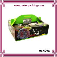 Wholesale Custom rigid color printed fruit carton box with paper handle ME-CU027 from china suppliers