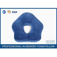 Wholesale Unique Pentagon Memory Foam Sleep Pillow For Office Snooze , Anti-Apnea from china suppliers